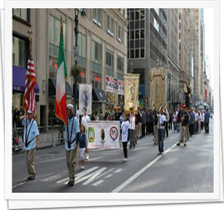 Columbus Day Parade 2013 5th Ave NYC