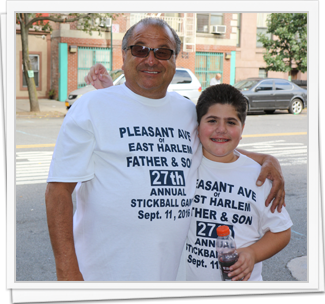 27th Annual Father and Son Stickball Game
