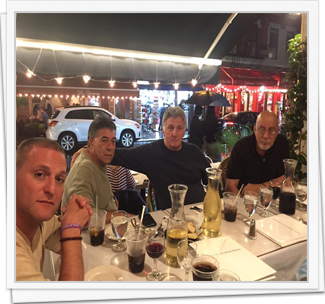 2016 1st Annual Columbus Day Dinner - Caffe Napoli