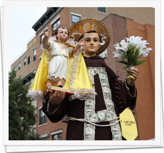 St Anthony Procession & Children's Giglio 8/10/13