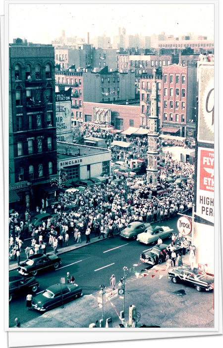 106st East Harlem Giglio Feast 1950's