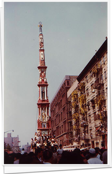 108st East Harlem Giglio Feast 1960's