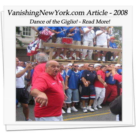 Vanishing New York Article 2008