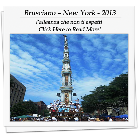Brusciano – New York - 2013