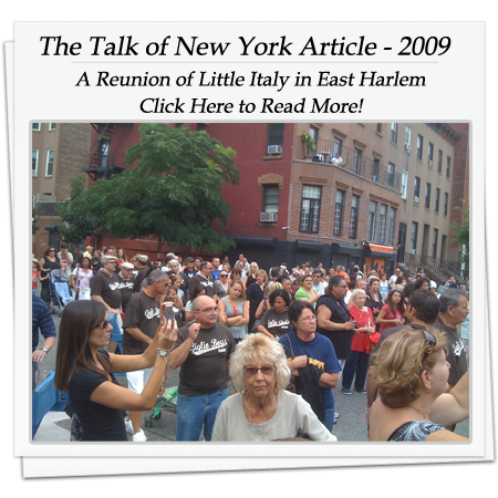 The Talk of New York Article 2009