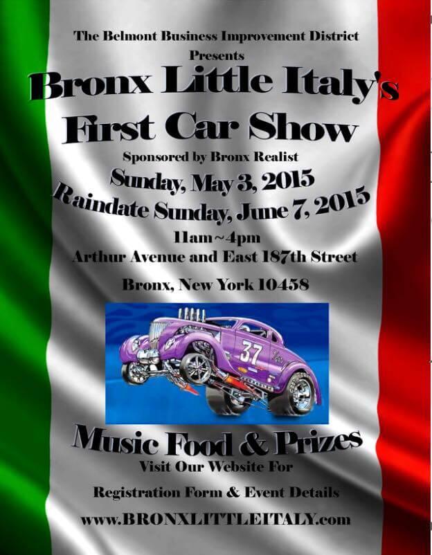 Arthur Ave Car Show