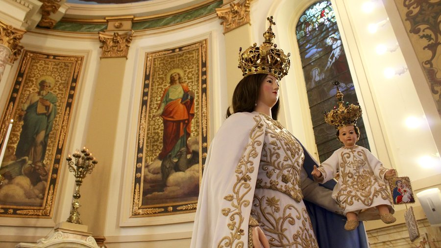Our Lady of Mt Carmel Statue – NPR Article
