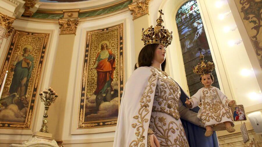 Our Lady of Mt Carmel Statue – NPR Article