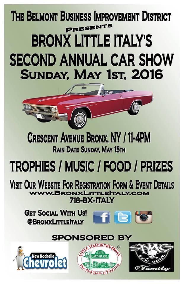 Arthur Avenue, Bronx Little Italy Annual Car Show