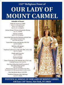 OLMC feast day 2016