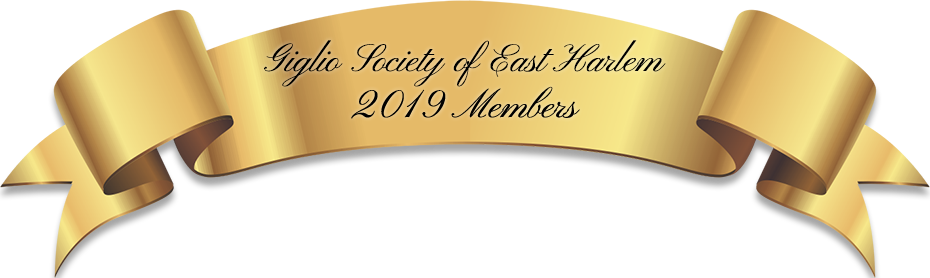 Giglio Society of East Harlem Members