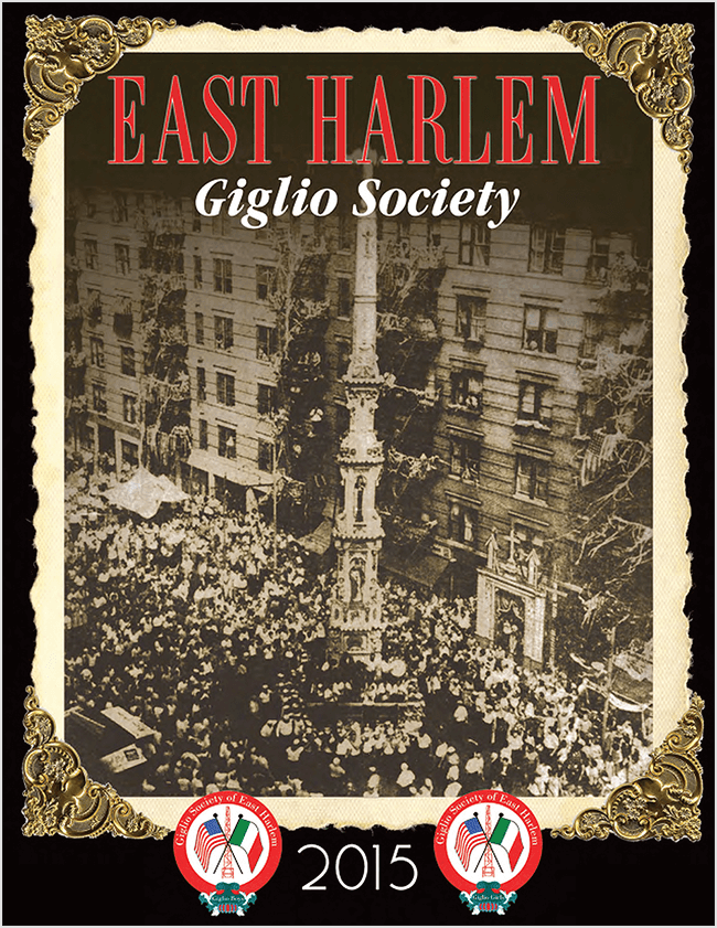 Giglio Society of East Harlem Journal Book 2015