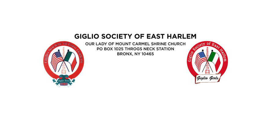 Greetings from your Brothers in The Giglio Society of East Harlem to Comitato Gioventu'