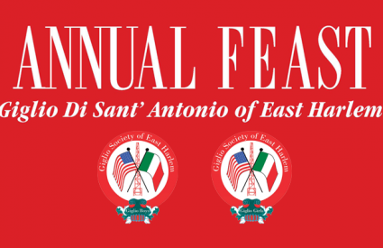 Giglio Society of East Harlem Feast 2017 Schedule of Events