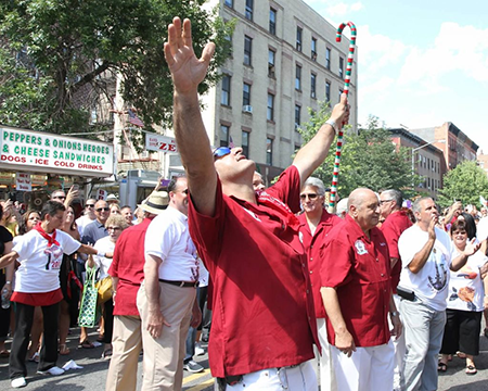 Giglio Society of East Harlem Feast Rituals