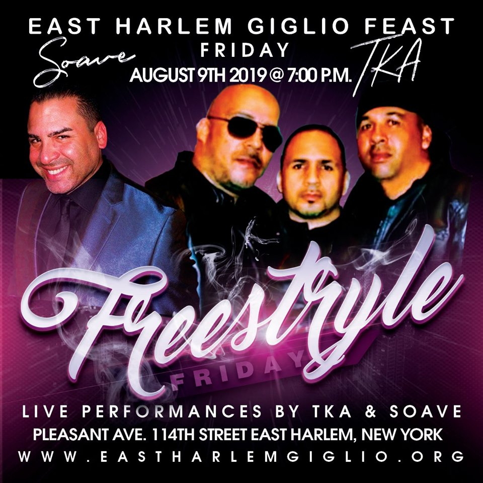 Freestyle Friday Concert August 9th!