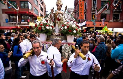 San Gennaro Procession Thursday September 19th