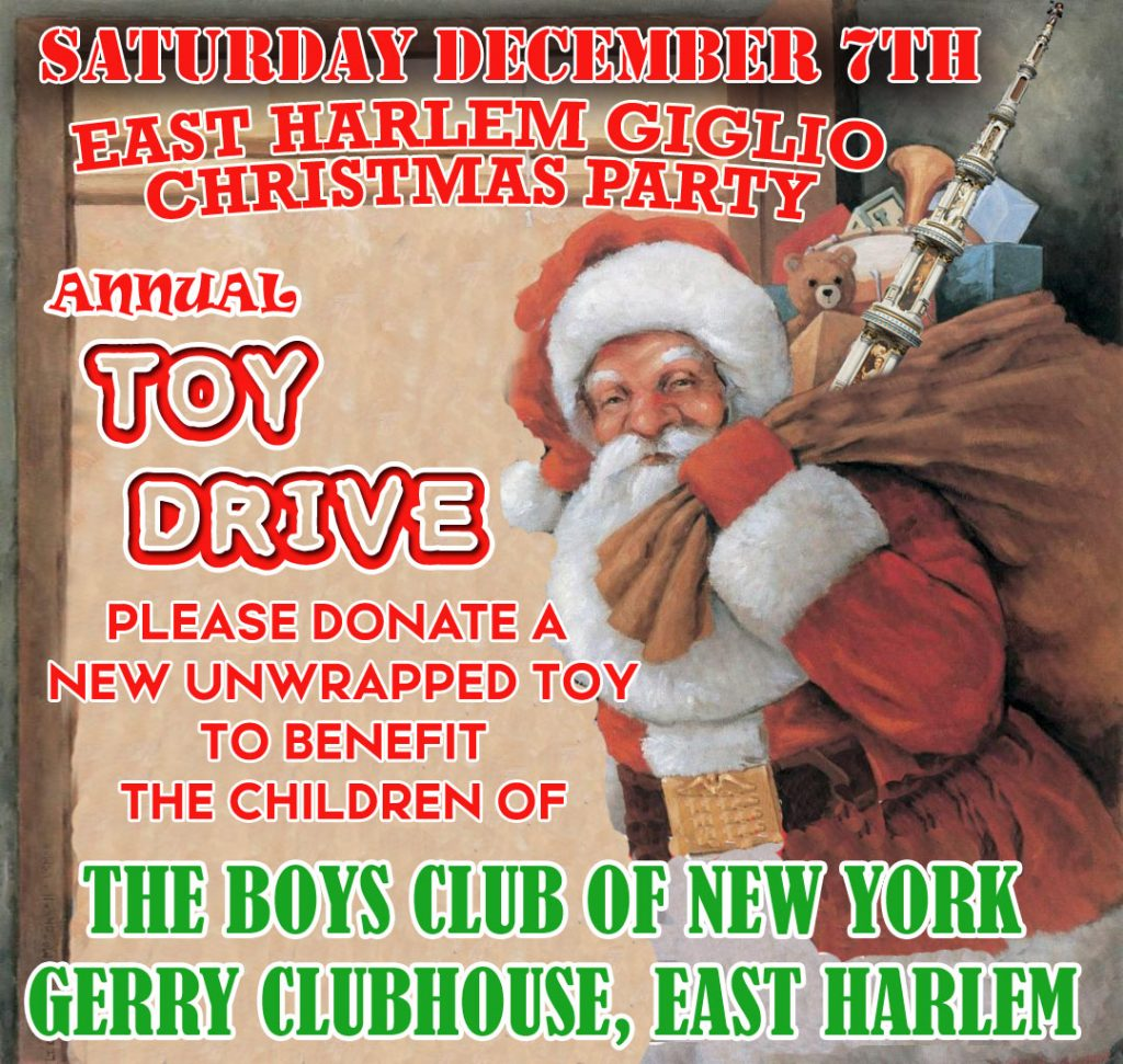 Christmas Party Toy Drive 2019